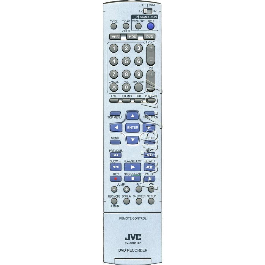 JVC RM-SDR017E